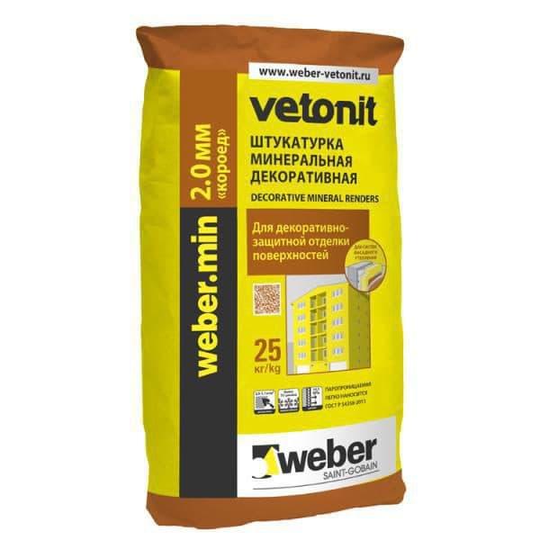 weber-Vetonit пас Короед 2.0 мм