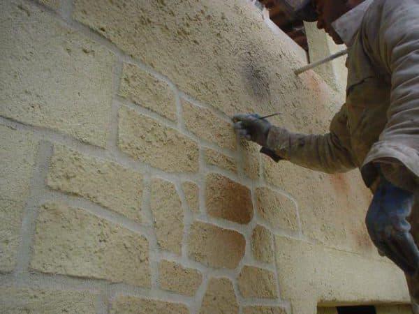 Имитация мрамора или камня
