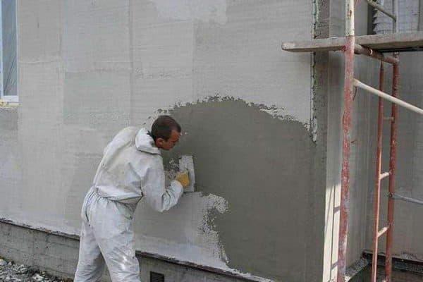 Штукатурка наружных стен