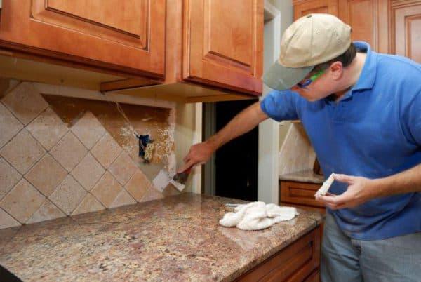 Кладка на кухне