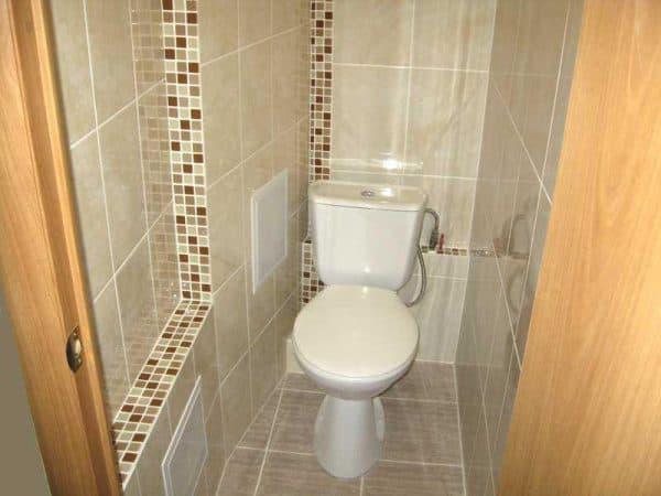 Кладка в туалете