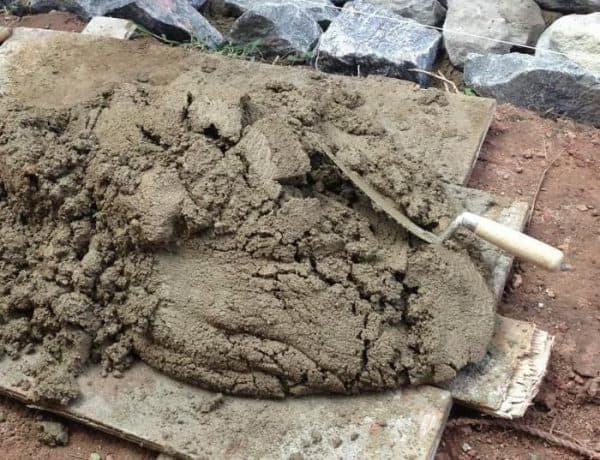 Цементно песчаная смесь