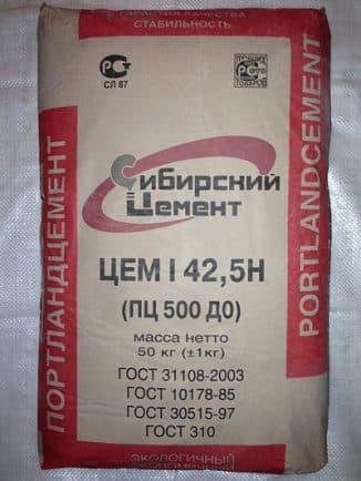 Цемент Гост 31108 2003