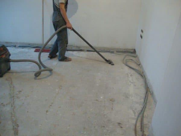 Очистка помещения