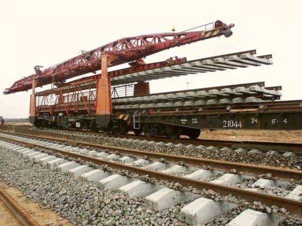 Насыпь железных дорог