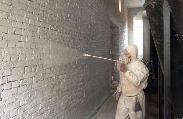 Побелка стен