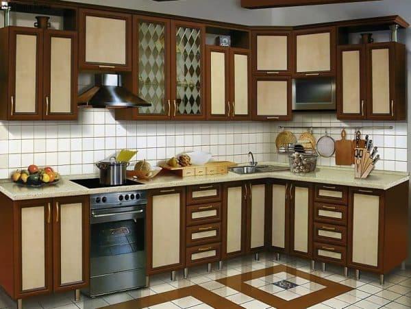 Кухня с пвх пленкой