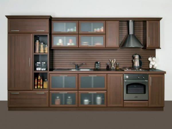 Кухня цвета абажура