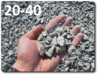 Щебень 20 40 сколько тонн в кубе