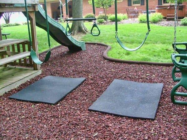 Покрытие детских площадок