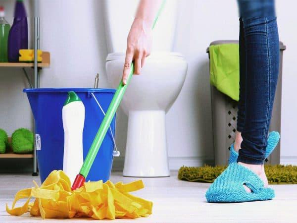 10% для дезинфекции ванной и туалета