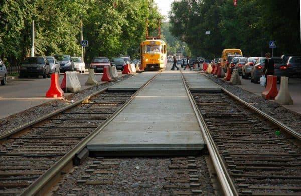 Реконструкция трамвайных путей